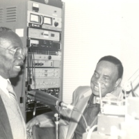 Roy and Gate April 1,1992 at WJLD Studios.jpg