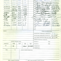 b8f10b - WJLD Program log - Saturday, June 6, 1981.jpg