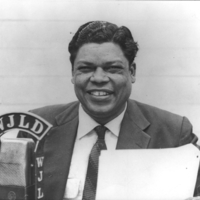 b3f6a - Perry Tiger Thompson at the WJLD mic - 1954.jpg