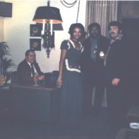b7f4a - WBUL offices - a gathering - 1975.jpg