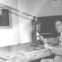 b2f44a - Edward Chambers at a WEDR mic - 1952.jpg