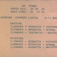 b7f22b - flip of f7a - WZZK antenna current limits - early 1970's.jpg
