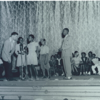 b2f11a - Bob Umbach at the Frolic Theater spelling bee - 1950.jpg