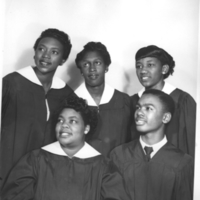 b2f27h - female quartet with male - 1950's Morrow photo.jpg