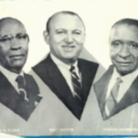 W. A. Clark, Taft Epstein, and Deacon Richmond Davis