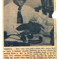 b2f6a - Ben Alexander on the air at WEDR 1220 - 1950.jpg
