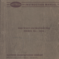 b2f4a - Raytheon Instruction Manual - Model RA-1000 - 4-24-1950.jpg