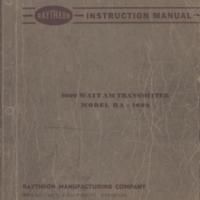 b2f4a - Raytheon Instruction Manual - Model RA-1000 - 4-24-1950.jpg
