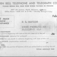 b3f26a - Southern Bell phone bill from Bessemer - Feb 1956.jpg