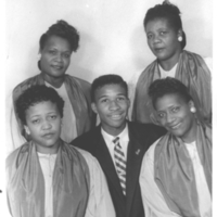 b2f27a - Gospel singers with Carlton Reese - 1952 Morrow.jpg