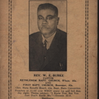 b1f39a - Rev. Burke's promo card for WSGN