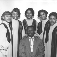 b2f27g - female quintet with male - 1950's Morrow.jpg