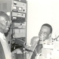 Roy and Gate April 1,1992 at WJLD Studios.jpg