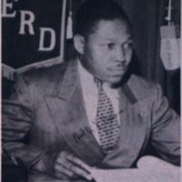 Paul EX Brown at WERD, Atlanta, 1952.jpg