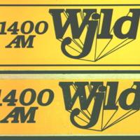 b8f60a - two WJLD bumper stickers - 1989.jpg
