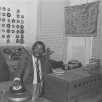 b4f43a - Sam 00 Moore at WJLD on First Ave. N - 1966.jpg