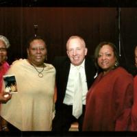(l-r) Jackie Taylor holding a,Gwen Sanders Gamble, Gwen's sister Deborah Sanders Smith, and Tuskegee SNCC activist and educator Dr. Joan Burroughs.jpg