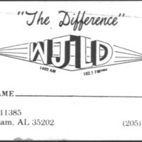 b8f50a - WJLD business card with WJLD FM 102.1 - 1987.jpg