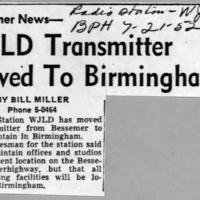 b2f29a -  Bham Post Herald - WJLD transmitter moved   7-21-1952.jpg