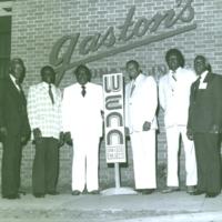 b8f4a - Gaston staffers in front of Lounge - 1980.jpg