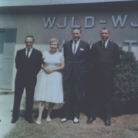 b4f12a - Otis Dodge and staff at WJLD red mountain - 1962.jpg