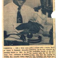 b2f6a - Ben Alexander on the air at WEDR 1220 - 1950.jpg