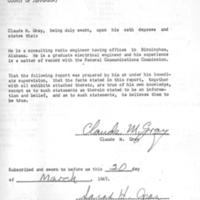b5f12b - Engineer Claude Gray's affidavit - 1967.jpg