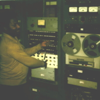 b7f8a - Manuel Fitch at WJLD automation system - 1975.jpg